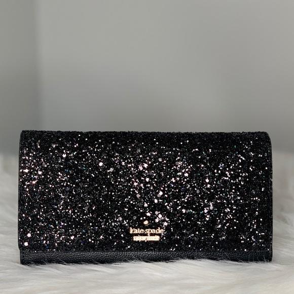 kate spade Handbags - Kate Spade Milou Laurel Way Glitter Smart Clutch